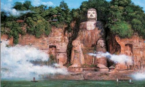 Khám phá vẻ đẹp Pho tượng Phật bằng đá lớn nhất Thế giới ở Trung Quốc