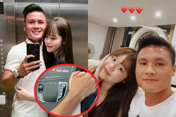 Quang Hải đưa Huỳnh Anh đi chơi trên xe Mẹc, dân mạng trêu đùa: Có ra Hồ Tây nhún nhảy không?