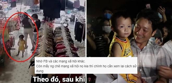 Vụ bé 2 tuổi bị bắt cóc tại Bắc Ninh: Không thể không kể đến sự giúp đỡ kịp thời của cộng đồng mạng