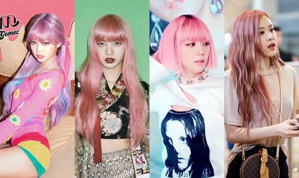 Black Pink đẹp bất chấp với màu tóc hồng nhưng chỉ có Rosé dám nhuộm hẳn lên tóc thật
