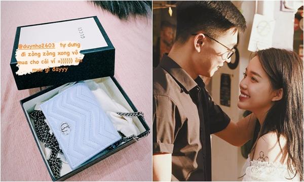 """Chia tay 7749 ngày, Linh Ngọc Đàm bỗng khoe được """"tình cũ"""" tặng túi hiệu, còn đi ăn uống tình tứ"""