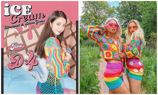 Mấy band girl được như BlackPink, lên đồ lòe loẹt sến rệt vẫn ngon ơ, hãng được dịp sold out nhiều món