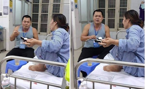 Cho đi để nhận lại: Đi chăm vợ bệnh, người đàn ông không ngại hiến máu giúp bệnh nhân nặng đang cần mổ gấp