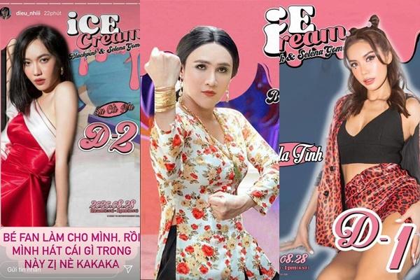 Loạt sao Việt đua nhau làm Black Pink và Selena Gomez trong MV mới, nhìn Huỳnh Lập hài không đỡ nổi