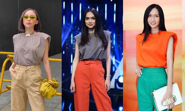 """Không làm ca sĩ, Hương Giang chuyển sang làm fashionista cũng ổn khi liên tục """"dẫn đầu xu hướng"""" thời trang của các mỹ nhân Vbiz"""