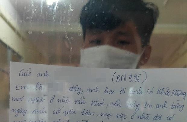 Thắt lòng bức thư từ xa em trai gửi người anh đã ra đi vì cùng nhiễm Covid-19
