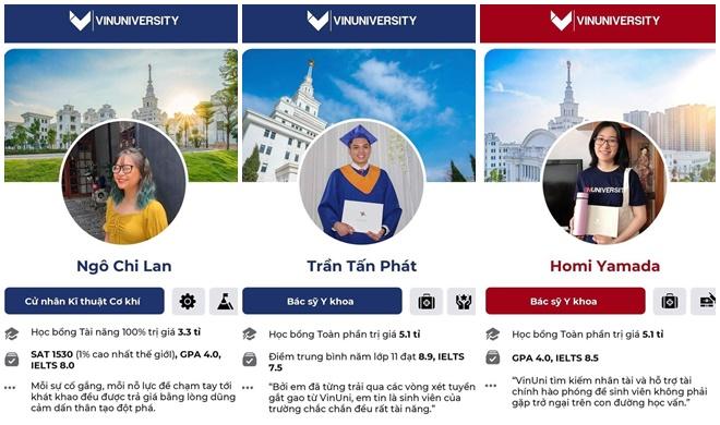 """""""Hoa mắt chóng mặt"""" soi profile """"khủng"""" dàn tân sinh viên khóa đầu tiên của Đại học VinUni"""