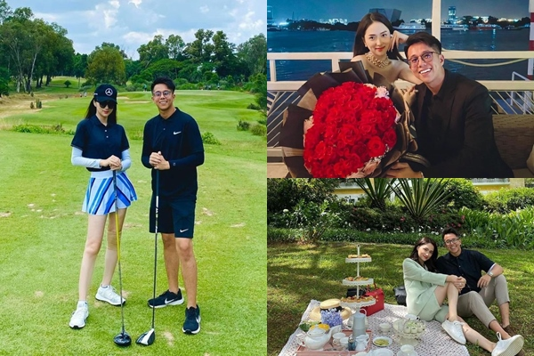 Hẹn hò của Hương Giang - Matt Liu toát lên sự giàu có: Trang phục 1 tỷ, check-in phải nơi thật sang