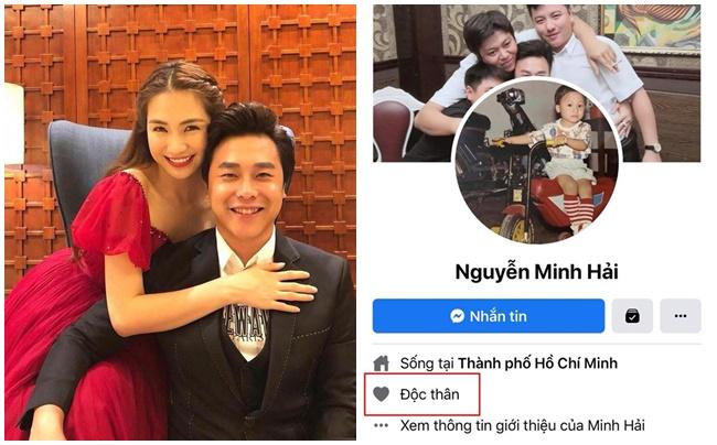 """Hòa Minzy lên tiếng về tin đồn rạn nứt với bạn trai thiếu gia, cả hai để """"Độc thân"""" trên Facebook"""