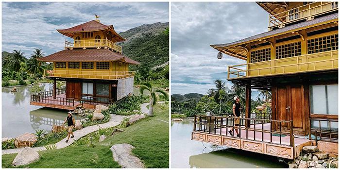Đẹp quên lối về Ngôi chùa Nhật Bản giữa hồ nước ít người biết ở Nha Trang