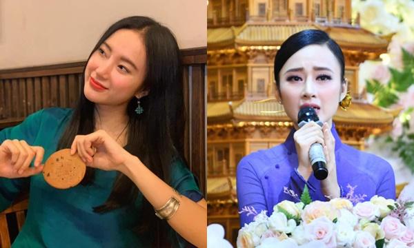 """Angela Phương Trinh khoe mặt mộc sau khi makeup đậm lên chùa, được khen là """"tâm xinh tướng"""""""