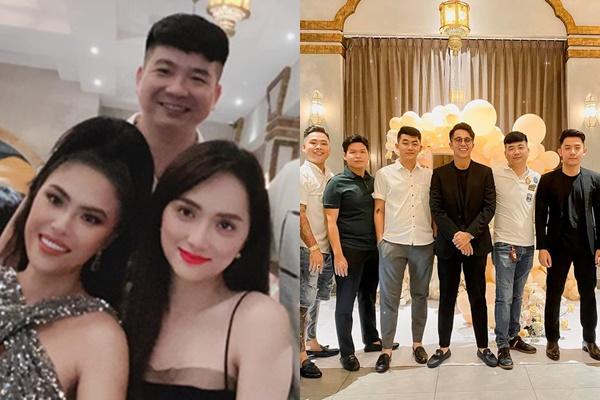 Vượt qua sóng gió, Matt Liu đưa Hương Giang đi gặp hội bạn siêu giàu, fans mơ đám cưới sớm