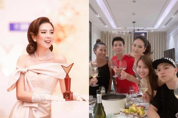 """Rộ tin đồn MC Mai Ngọc trượt giải """"Người dẫn ấn tượng của VTV"""", liền bỏ về sớm tụ tập với hội bạn"""