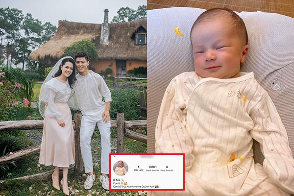 Tranh cãi chuyện vợ chồng Duy Mạnh lập Instagram cho con: Vừa chào đời đã bị mang lên MXH bình phẩm