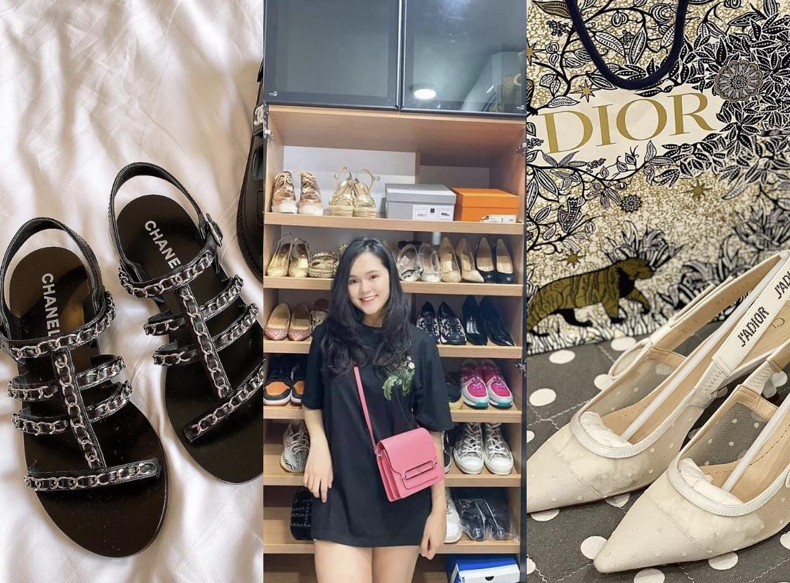 Quỳnh Anh đăng ảnh sau sinh, nhưng sự chú ý lại tập trung vào tủ giày cả trăm triệu