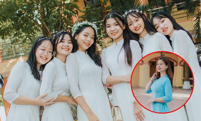 Lớp học 100% gái xinh ở Ninh Bình, cô chủ nhiệm cũng không chịu thua kém