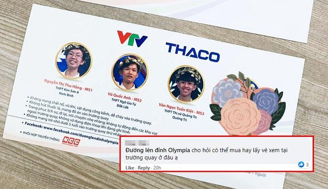 10 ngày nữa là diễn ra cầu truyền hình chung kết Đường lên đỉnh Olympia, dân tình háo hức đoán nhà vô địch