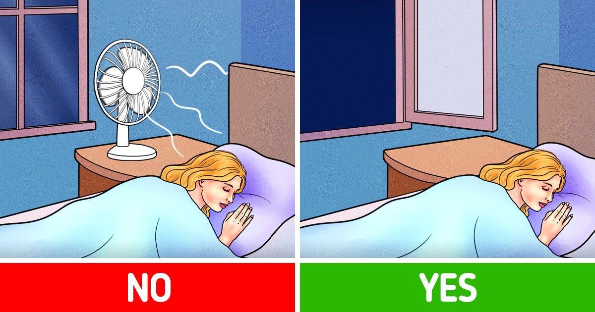 Những lý do bạn không nên bật quạt khi ngủ dù trời nóng bức đến mấy