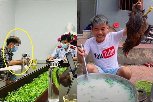 """Nấu cháo gà nguyên lông bị cộng đồng chỉ trích """"gắt"""", Hưng Vlog còn chịu phạt 7,5 triệu đồng"""