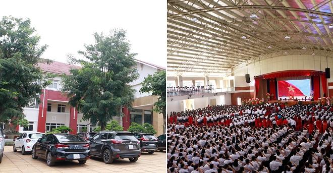 """Ngôi trường """"rich kid"""" bậc nhất Tây Nguyên: Được đầu tư hơn 400 tỷ đồng, phụ huynh đi toàn xe sang"""