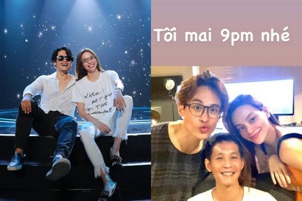 """Hồ Ngọc Hà selfie cùng Hà Anh Tuấn để lộ gương mặt lạ lẫm, CĐM: """"Dùng app quá đà hay thế nào?"""""""