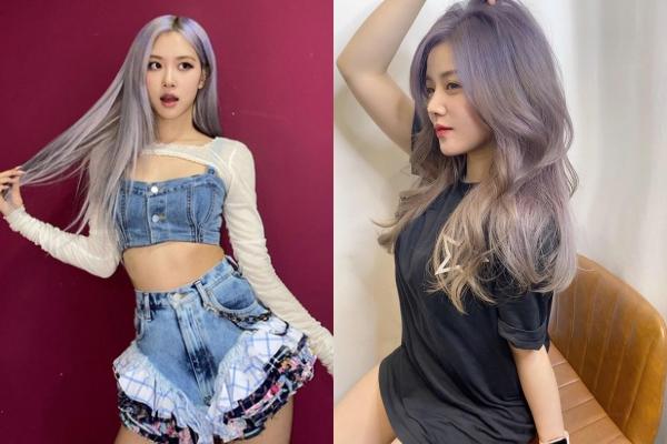 Nhuộm màu tóc giống Rosé, em gái Ông Cao Thắng khiến CĐM xuýt xoa vì visual đỉnh cao