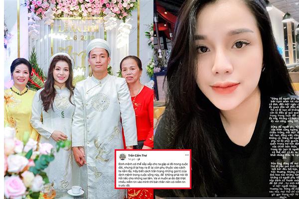 Con gái có hành động lạ, mẹ vợ Bùi Tiến Dũng lần thứ 2 lên tiếng ẩn ý chuyện hôn nhân của Khánh Linh