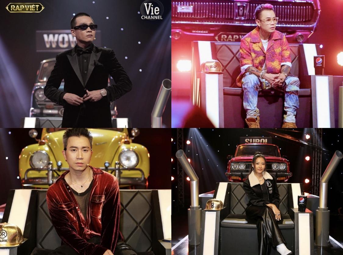 Nếu ai đó nói làm rapper không giàu được thì hãy đưa cho họ xem trang phục của HLV Rap Việt
