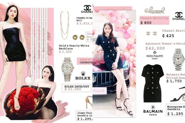 Bóc giá loạt item diện gần đây mới thấy Hương Giang đích thị là nữ hoàng hàng hiệu đẳng cấp nhất showbiz Việt