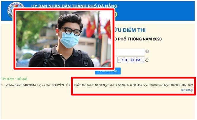 Nam sinh Đà Nẵng vượt mặt 4 thí sinh soán ngôi thủ khoa khối B toàn quốc với 3 điểm 10 trong kỳ thi tốt nghiệp THPT đợt 2