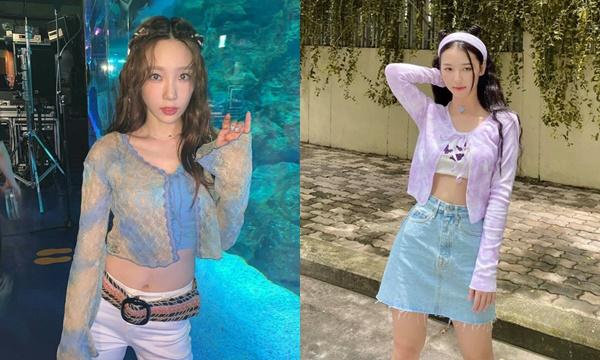 """Chẳng riêng Jennie - Taeyeon, Amee cũng """"mê tít"""" cardigan buộc dây đây này, sắm ngay kẻo quê một cục"""