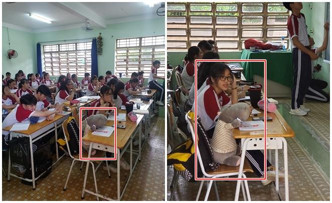 """""""Đu trend"""" đưa thú bông đi học, cô bạn có ngay đứa """"bạn cùng bàn"""" mới ngồi học cùng khiến cả lớp ghen tị"""