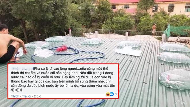 Người dân miền Trung chia sẻ cách chống bão sáng tạo trước khi bão số 5 đổ bộ khiến cộng đồng phấn khích