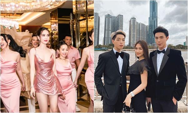 """Trend mới: sao Việt mở tiệc rủ nhau diện 'dress code"""", chiếm spotlight nhất vẫn là Ngọc Trinh"""