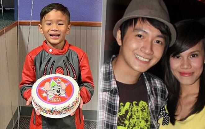 Con trai Ngô Kiến Huy giống hệt bố hồi nhỏ: 10 tuổi vẫn thấp bé, nhẹ cân, mãi không chịu lớn