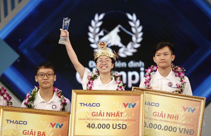 Nữ sinh Ninh Bình giành ngôi Quán quân Đường lên đỉnh Olympia 2020: 9 năm mới lại có một quán quân nữ