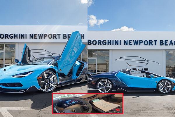 """Sự thật về đại gia thất tình mua siêu xe Lamborghini 260 tỷ: Hóa ra chỉ là """"chém gió""""?"""