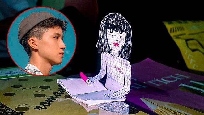 """Bạn cùng bàn nghỉ học, nam sinh làm hình vẽ """"siêu kute"""" thế chỗ, dân tình đua nhau tag bạn và phát hiện trai đẹp"""