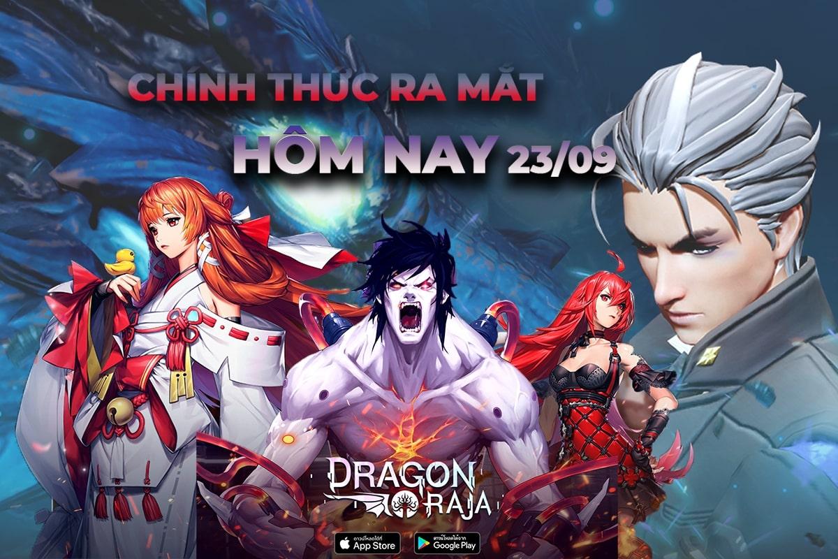 """Hot 1000 độ: Game thủ Việt chính thức """"chạm tay"""" đến siêu phẩm Dragon Raja - Funtap Việt hóa 100%"""