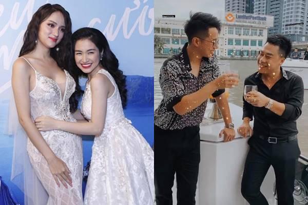 """Hương Giang - Hòa Minzy: Đôi bạn thân cùng yêu đại gia trẻ tuổi tâm lý, """"đua nhau"""" khoe xe sang"""
