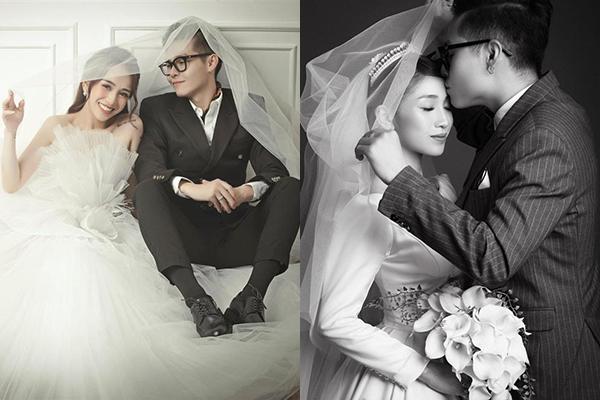 """Hé lộ ảnh cưới sau 1 năm kết hôn, con gái Minh Nhựa không quên gửi lời yêu: """"Em muốn bên anh đến lúc anh già vẫn là của em"""""""