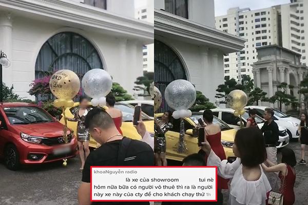 """Hội chị em khoe được công ty thưởng siêu xe, ai ngờ lại bị """"bóc mẽ"""": """"Cho thuê xe tự lái chứ không có tặng nha!"""""""