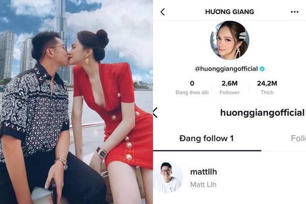 """Hương Giang theo dõi mình tài khoản Matt Liu, """"quyết không nhường anh cho ai"""""""