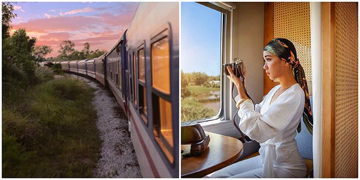 Chuyến tàu hỏa Đà Nẵng - Bình Định đẹp như thước phim Đông Dương chính thức đi vào hoạt động