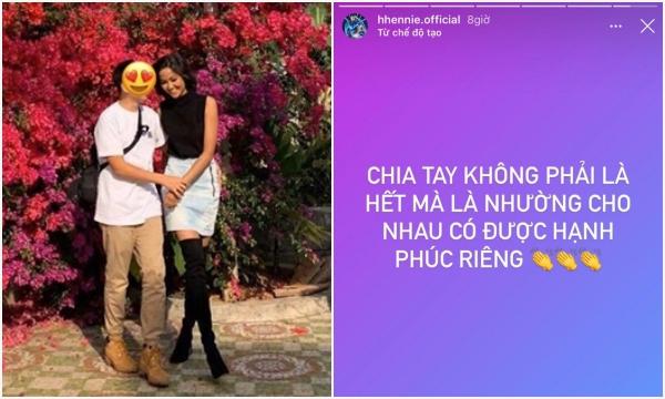 """Tiếc cho mối tình """"sớm nở tối tàn"""" của Hoa hậu HHen Niê và bạn thân Đen Vâu, chưa kịp công khai đã tan vỡ"""