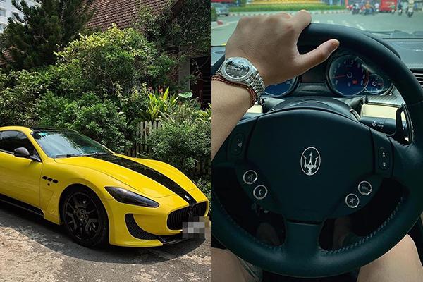 """CEO Tống Đông Khuê vừa sắm xế hộp 15 tỷ, bạn trai Hoa hậu Hương Giang đã nhảy vào đòi """"rửa xe"""""""
