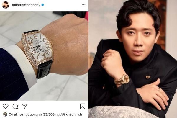 Hậu lùm xùm Rap Việt, Trấn Thành mạnh tay sắm đồng hồ nửa tỷ đồng khiến khán giả choáng váng