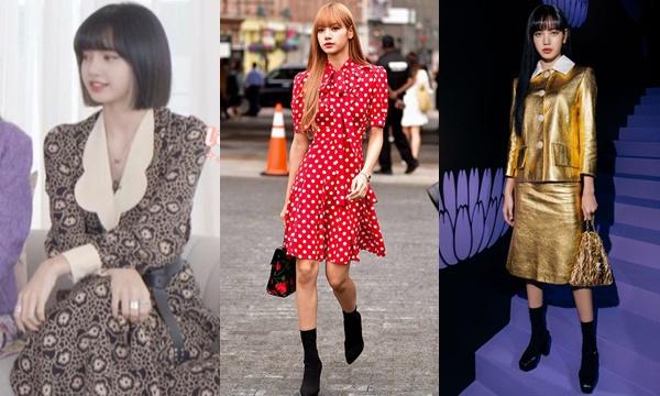 """Đôi lần bị stylist cho diện váy già một cục, Lisa vẫn """"cân tốt"""" nhờ visual đỉnh cao, xinh xắn như búp bê"""
