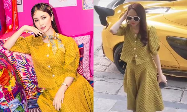 Hương Giang Hòa Minzy đụng độ thời trang: chị đơn giản sang chảnh, em đằm thắm kiêu sa