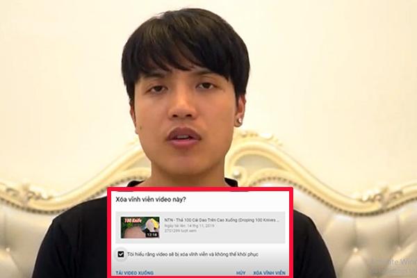 """Tài khoản """"Youtuber số 1 VN"""" tuyên bố xóa hết các video gây tranh cãi, mong khán giả đón nhận lại mình"""